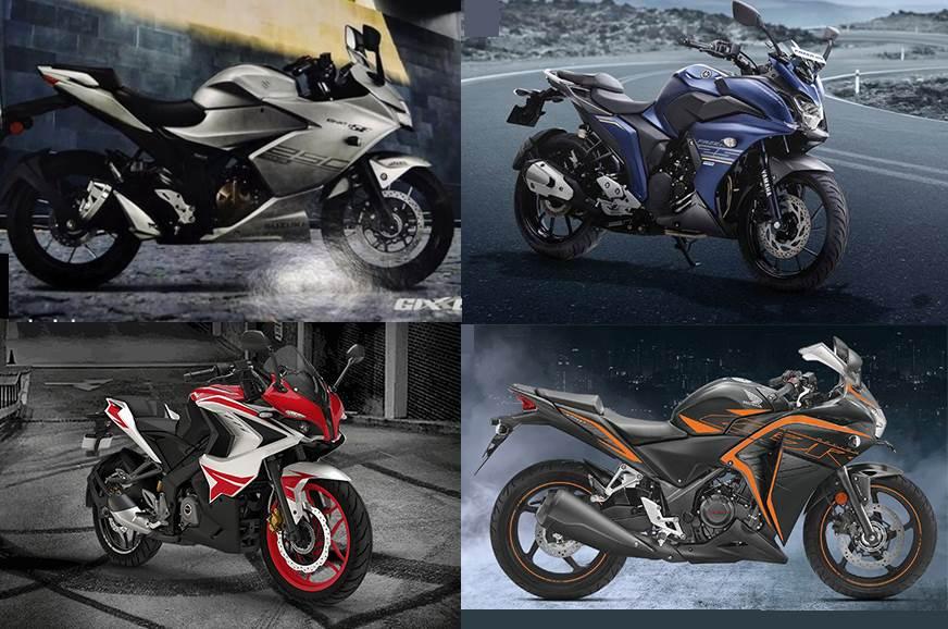 Suzuki Gixxer SF 250 vs rivals: Specifications comparison