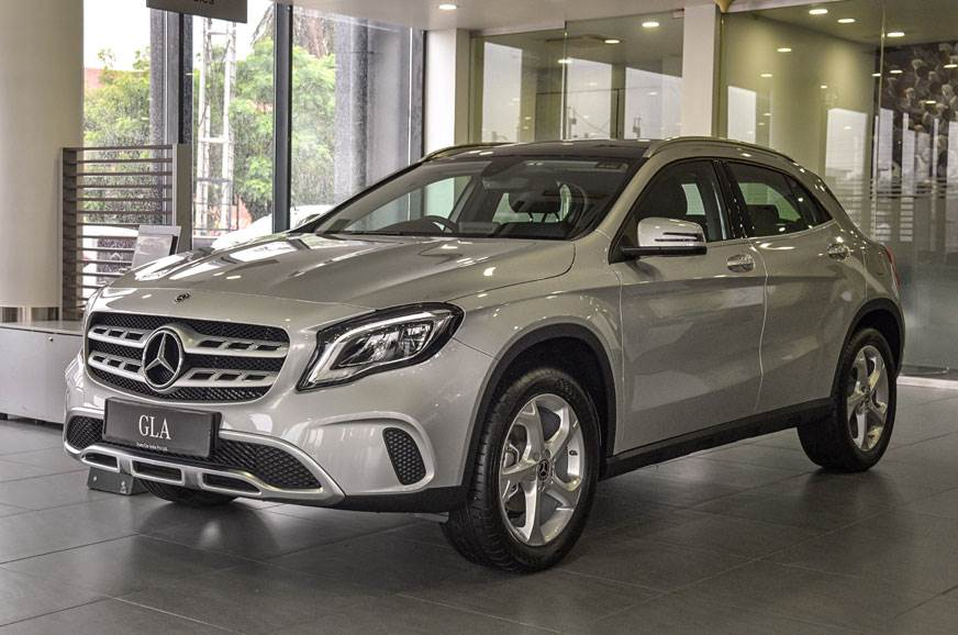 Save up to Rs 6.1 lakh on the Mercedes GLA this month.
