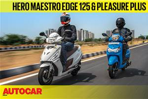 2019 Hero Maestro Edge 125 & Pleasure Plus video review