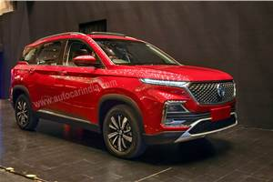 MG Hector officially revealed ahead of June 2019 launch