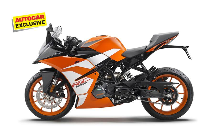 KTM RC 125 deliveries to begin in July 2019