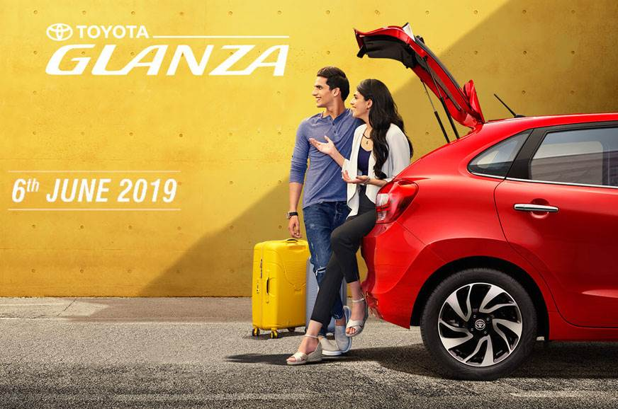 Toyota Glanza launch confirmed for June 6, 2019