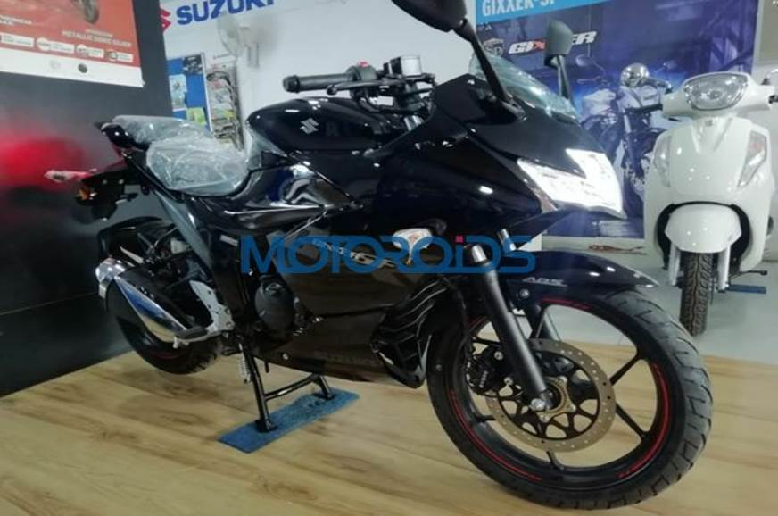 2019 Suzuki Gixxer SF 150 spotted at a dealership