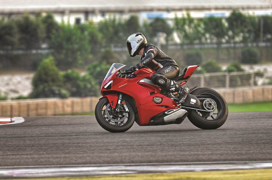 Ducati Panigale V4 sold out for 2019 in India