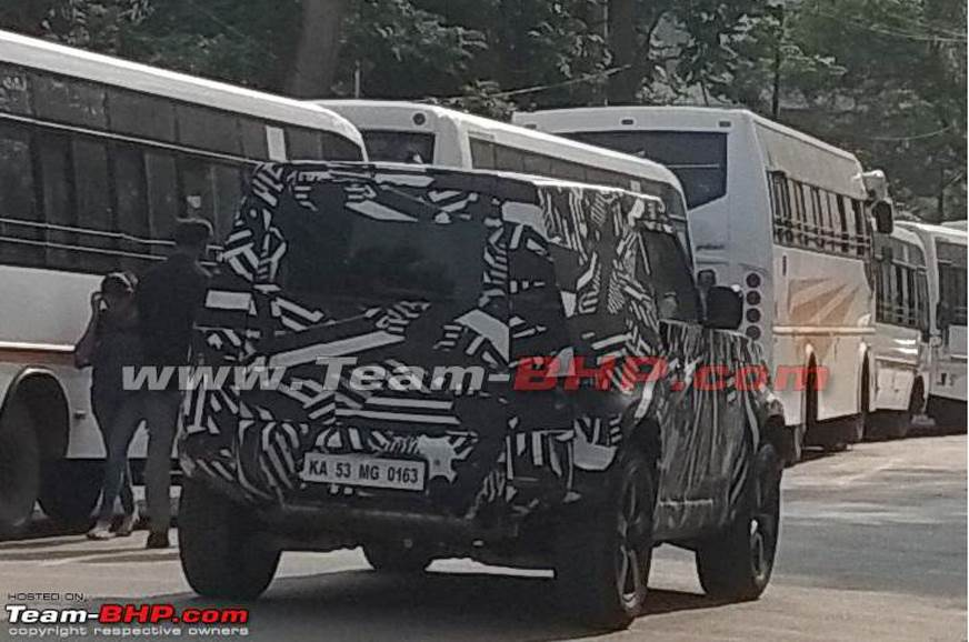 Next-gen Land Rover Defender spied testing in India