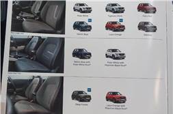 Hyundai Venue colours options revealed in leaked brochure