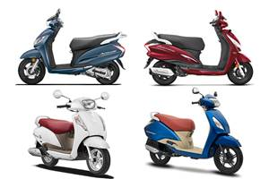India's highest-selling scooters in April 2019