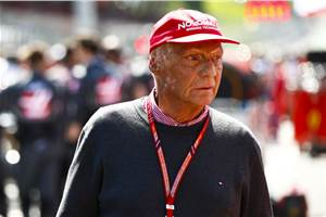 F1 legend Niki Lauda dies at 70