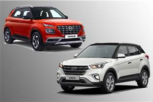 Hyundai Venue vs Creta price, fuel efficiency compared