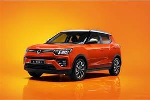 Ssangyong Tivoli facelift unveiled in Korea
