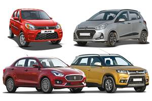 Bestselling cars, SUVs in India in April 2019