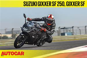 Suzuki Gixxer SF 250, Gixxer SF video review