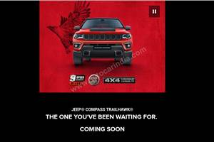 Jeep Compass Trailhawk teased ahead of India launch