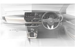 Kia SP2i interior teased ahead of June 20, 2019 debut