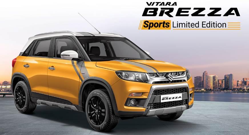 Maruti Vitara Brezza Sport limited edition launched