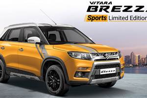 Maruti Vitara Brezza Sport limited edition launched