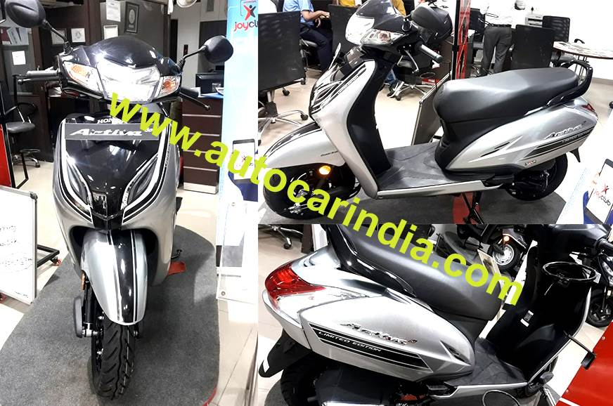 Honda Activa 5G limited edition priced from Rs 55,032
