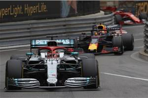 Hamilton fends off Verstappen to win 2019 Monaco GP