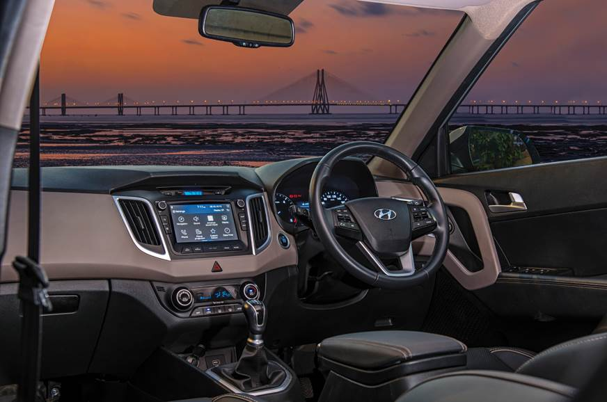 Vroom with a view: The Creta's well-equipped cabin is a g...