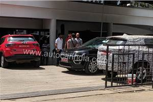 More powerful, BS6-ready Tata Harrier diesel spied