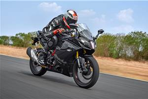 2019 TVS Apache RR 310 review, track ride