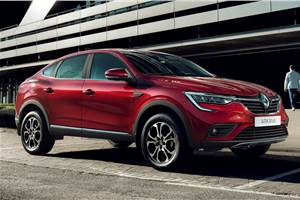 Production-spec Renault Arkana SUV-coupe unveiled