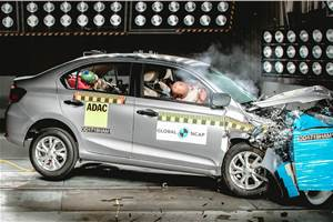 Made-in-India Honda Amaze rated 4 stars in Global NCAP crash test