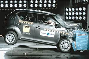 India-made Suzuki Ignis scores 3 stars in Global NCAP crash test