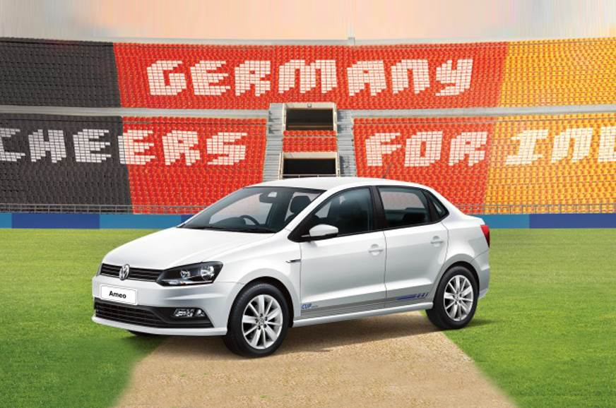 cricket world cup themed volkswagen polo ameo vento cup. Black Bedroom Furniture Sets. Home Design Ideas