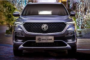 MG Hector Hybrid mileage revealed