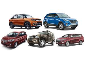 Bestselling SUVs, MPVs in India in April 2019