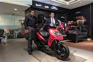 Aprilia Storm 125 officially launched at Rs 65,000