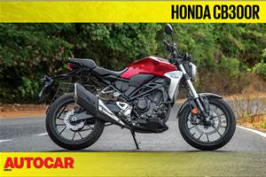 2019 Honda CB300R video review