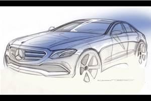Mercedes-Benz EQE electric sedan reveal in 2022