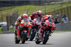 Italian MotoGP report: Danilo Petrucci claims first career win