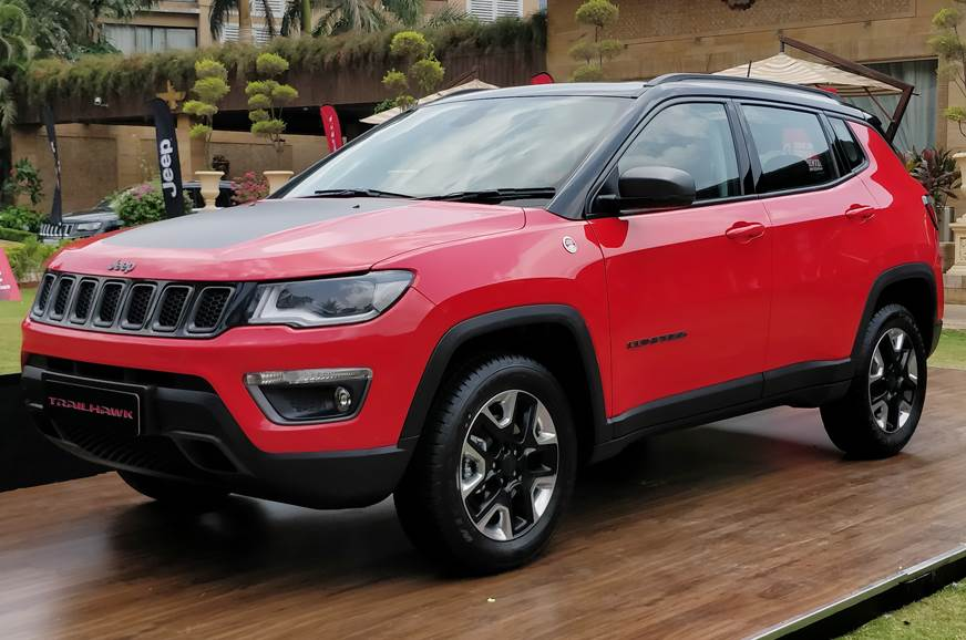 India-spec Jeep Compass Trailhawk revealed
