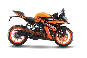 SCOOP! India-spec KTM RC 125 colour scheme revealed