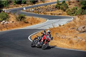 Ducati Multistrada 1260 Pikes Peak review, test ride
