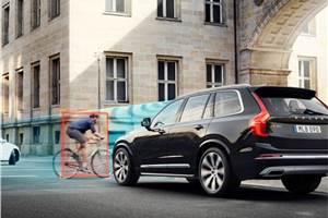 Volvo, POC co-develop crash tests for bike helmet