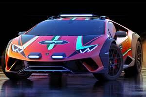 Lamborghini Huracan-based Sterrato off-road concept revealed