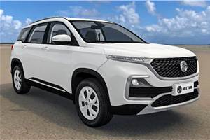 MG Hector configurator goes live