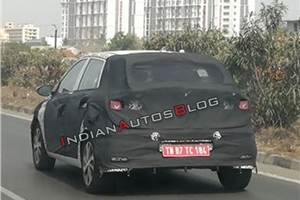 Next-gen Hyundai i20 spied for the first time