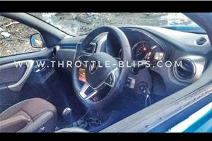 Refreshed Renault Duster interior to get a major overhaul