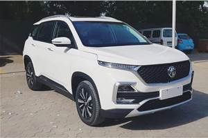 MG Hector test drives begin from June 15
