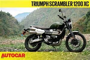 2019 Triumph Scrambler 1200 XC video review
