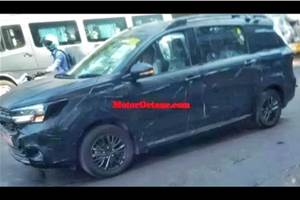 Maruti Ertiga Cross spied in India for first time