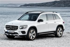 Mercedes-Benz GLB SUV breaks cover