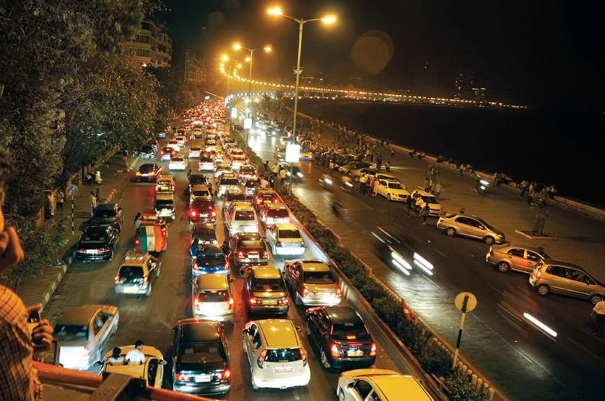 Mumbaikars were back on the road with a vengeance followi...