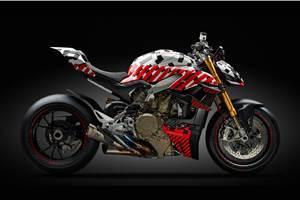 Ducati Streetfighter V4 prototype breaks cover
