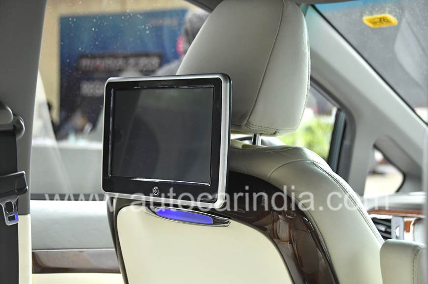 DC's interior package includes two 10.1-inch screens at t...
